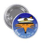 Pin de la campaña del lanzamiento de FOXSI 2014 Pin Redondo 2,5 Cm