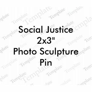 Pin de la escultura de la foto de la justicia pin fotoescultura