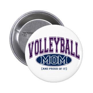Pin de la mamá del voleibol