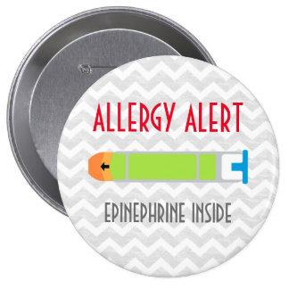 Pin de la medicina de la emergencia de la alarma