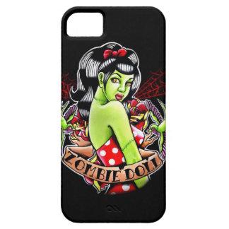 Pin de la muñeca del zombi encima del flash del funda para iPhone SE/5/5s