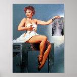 Pin de la radiografía para arriba poster