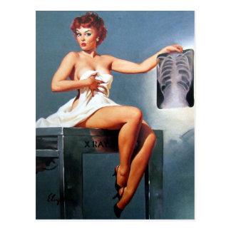Pin de la radiografía para arriba postales