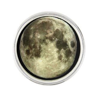 Pin. de la solapa de la Luna Llena Pin