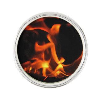 Pin de la solapa del fuego del baile