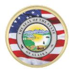Pin de la solapa del gran sello de Alaska