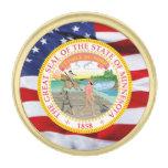 Pin de la solapa del gran sello de Minnesota