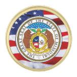 Pin de la solapa del gran sello de Missouri