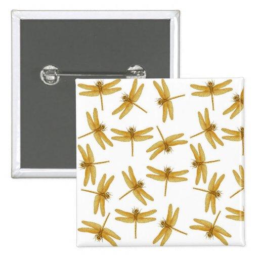 Pin de las libélulas del oro