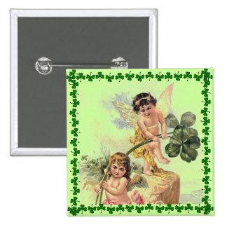Pin de las querubes del día de St Patrick del vint