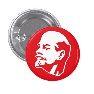 Pin de Lenin Pin Redondo 2,5 Cm