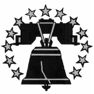PIn de Liberty Bell Pin Fotoescultura
