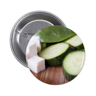 Pin de los ingredientes de la ensalada