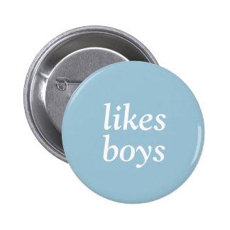Pin de los muchachos pin redondo 5 cm