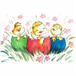 Pin de los polluelos de Pascua Escultura Fotografica