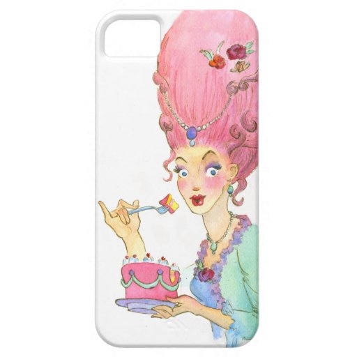 Pin de Marie Antonieta ascendente y caja de la iPhone 5 Carcasas