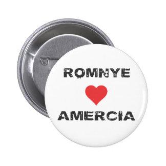 Pin de Romnye Luvs Amercia Pinback