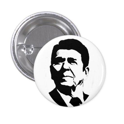 Pin de Ronald Reagan Pin Redondo 2,5 Cm