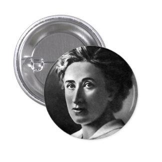 Pin de Rosa Luxemburg Pin Redondo 2,5 Cm