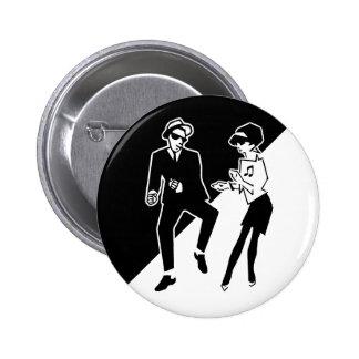 Pin de Ska Pin Redondo 5 Cm