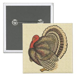 Pin de Turquía de la acción de gracias
