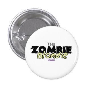 ¡Pin de ZombieBlondie! Pin Redondo De 1 Pulgada