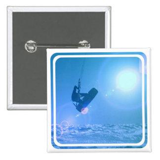 Pin del aire de Kitesurfing