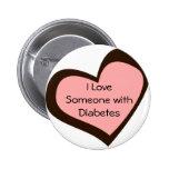 Pin del amor de la diabetes