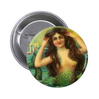 Pin del arte de la fantasía de la sirena del vinta