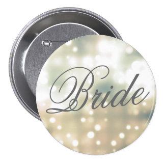 Pin del botón de la novia del resplandor de Champá