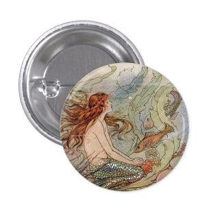 Pin del botón de la sirena del vintage
