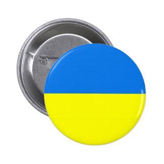 Pin del botón/de la solapa de la bandera de Ucrani