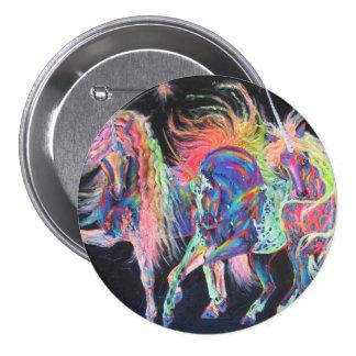 Pin del botón de los unicornios de Carnivale