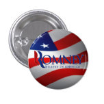Pin del botón de Mitt Romney