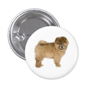 Pin del botón del perro de perrito del perro chino