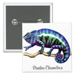 Pin del camaleón de la pantera