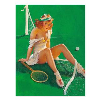 Pin del chica del tenis para arriba