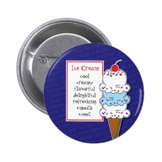 Pin del cono de helado