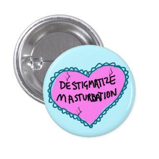 Pin del corazón del Masturbation de Destigmatize