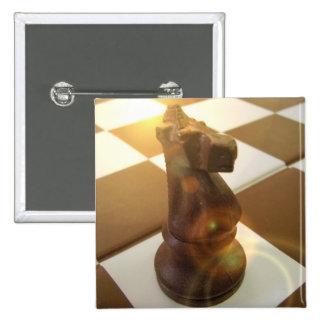 Pin del cuadrado del caballero del ajedrez