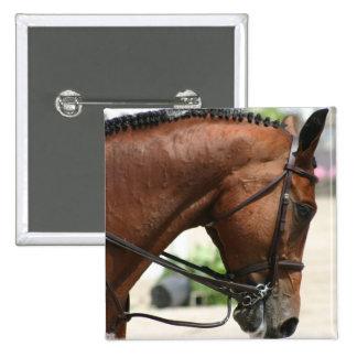 Pin del cuadrado del caballo del Dressage