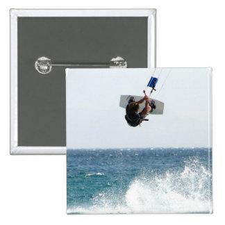 Pin del cuadrado del salto de Kiteboarding
