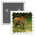 Pin del cuadrado del vagabundeo del Hyena
