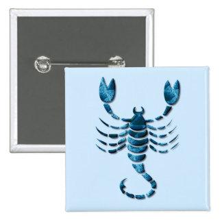 Pin del cuadrado del zodiaco del escorpión