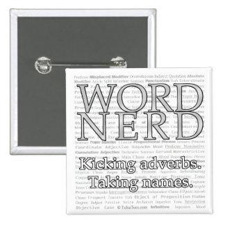 Pin del empollón de la palabra