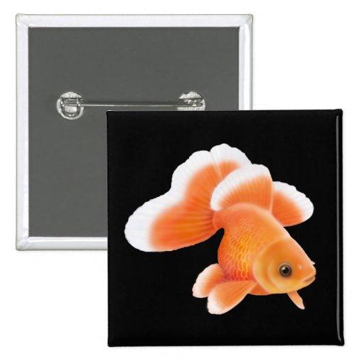 Pin del Goldfish de la cola de la mariposa de Tosa