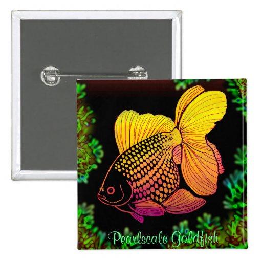 Pin del Goldfish de Pearlscale