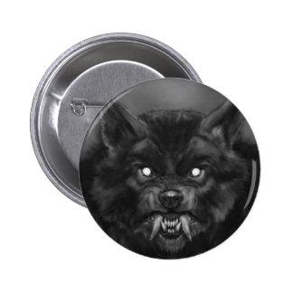 Pin del hombre lobo/botón
