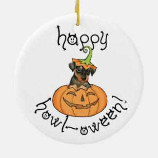 Pin del minuto de Halloween Adorno Navideño Redondo De Cerámica