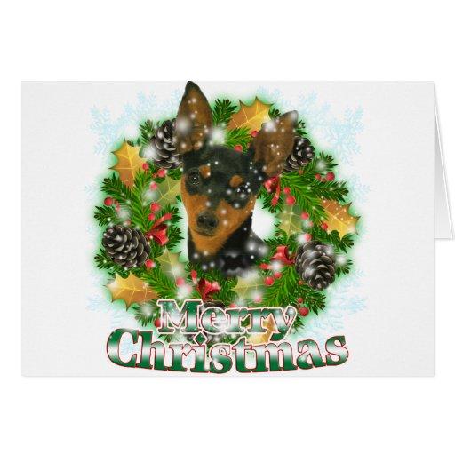 Pin del minuto de las Felices Navidad Tarjeta De Felicitación